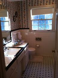 Blue And Brown Bathroom Decor by Magnificent Ideas And Pictures Of 1950s Bathroom Tiles Designs