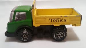 RARE VINTAGE OLD TONKA TRUCK METAL DIECAST PART ANTIQUE CAR TOY ...