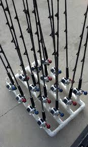 pvc fishing rod holder ideas pvc pinterest fish
