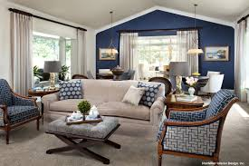 Blue Accent Wall Living Room 15 Lovely Designs With Accents Home