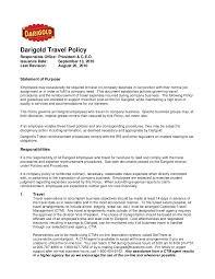 8 Darigold Travel Policy Final Oct 2014