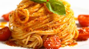 cuisiner thon frais spaghetti au thon frais et aux tomates cerises recette par gustagora