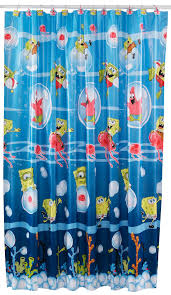 spongebob squarepants shower curtain bed bath shower spongebob