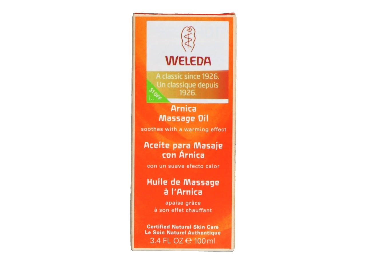 Weleda Arnica Massage Oil - 100ml