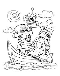 Garfield 10 Dessins Animés Coloriages à imprimer