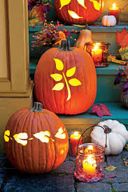 Pumpkin Carving Drill Holes by 33 Halloween Pumpkin Carving Ideas Southern Living