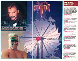 Wcw Halloween Havoc by Wcw Halloween Havoc Ppv Preview Wcw Magazine Wcw Worldwide