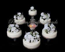 6 TIER CASCADE WEDDING CAKE STAND STYLE R600