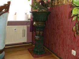 dekorative blumensäule aus wohnzimmer esszimmer