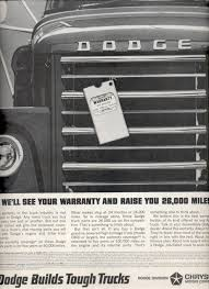 Jan. 18, 1964 Dodge Builds Tough Trucks- Chrysler Motors Corp. Ad ...