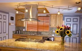 kitchen track lighting ideas and basic principles in