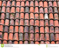 clay roof tiles stock image image of clay pattern aged 37952277