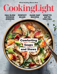 October 2017 Magazine Features Cooking Light