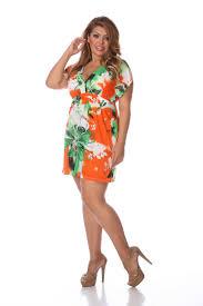 white mark women u0027s plus size printed summer dress online exclusive