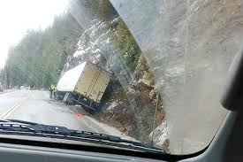 100 Truck Crashes Video Crashes Into Ditch West Of Sicamous Salmon Arm Observer