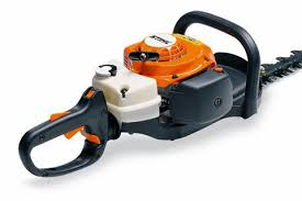 light and racy the powerful petrol hedge trimmers stihl