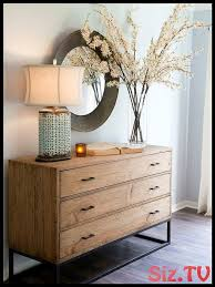 decorate sideboard branches bleeten white l