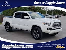Used 2016 Toyota Tacoma For Sale | Ft. Pierce FL 2016 Tacoma Trd Offroad Double Cab Long Bed King Shocks Camper 2007 Toyota Prerunner Abilene Tx Used Car Sales Premier Trucks Vehicles For Sale Near Lumberton Mason City Powell Wy Jacksonville Fl New Models 2019 20 Top Of The Line Crew Pickup For Baldwinsville 2017 Latham Ny 5tfsz5an2hx089501 2018 Sr5 One Owner No Accidents In Tuscaloosa Al 108 Cars From 3900