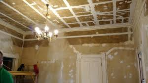 Hairline Cracks In Ceiling Paint by Wild Rose Victorian House Working On Cracks In The Ceiling And