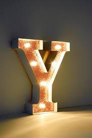 Sekluxy Alphabet LED Letter Lights Light Up White Plastic Letters