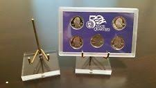 20 Single Post Display Stands For Coin Medal Medallion Token Proof Sets