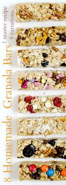 8 Easy Homemade Granola Bar Recipes Best 25 Granola Bars Ideas On Pinterest Homemade Granola 35 Healthy Bar Recipes How To Make Bars 20 You Need Survive Your Day Clean The Healthiest According Nutrition Experts Time Kind Grains Peanut Butter Dark Chocolate 12 Oz Chewy Protein Strawberry Bana Amys Baking Recipe