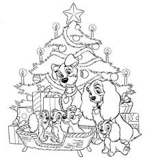 Disney Coloring Pages For Christmas Free Printable