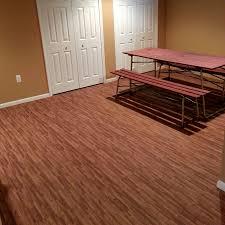 tile best rubber flooring tiles for basements beautiful home