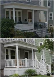 Azek Porch Flooring Sizes by An Azek Porch Added Curb Appeal To This New Bedford Ma Home