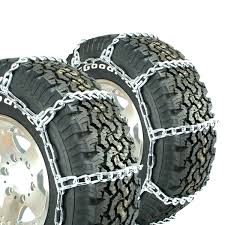 100 Truck Tire Chains Titan HD Mud Service Light Link OffRoad Mud 8mm