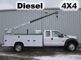 100 Service Truck With Crane For Sale D F550 Xl Sd Used S On Buysellsearch