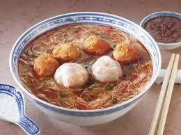 cuisine thailandaise recette soupe de boulettes thaïlandaises recettes de cuisine thaïlandaise