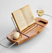 diy bathtub caddy with reading rack best 25 bath caddy ideas on bath shelf bath ideas