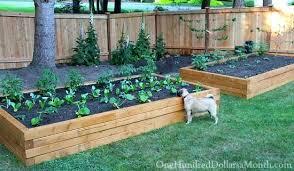 Building Garden Box Raised Bed Making Raised Bed Garden Boxes Diy