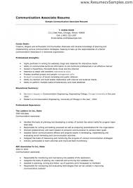 Communication Skills Examples For Resume Of Resumes Amazing Archaicawful Templates Example Template 1920