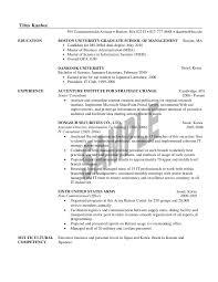 1st Year MBA Resume Sample Titus Kanbee 595 Commonwealth Avenue O Boston MA 02215 617 777 8888