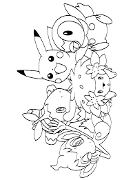 Pokemon Coloring Pages Free Color Printable