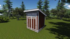 Free Shed Plans 8x8 Online by 8x8 Modern Shed Plan