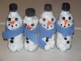 Winter Crafts Water Bottles Art Craft Ideas