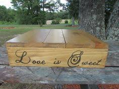 16 X C Rustic Cake Stand Love Is Sweet Wedding