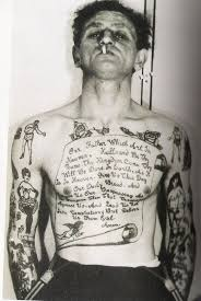 Vintage Sailor Tattoo On Body