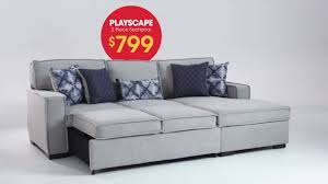 Bobs Skyline Living Room Set by Playscape 2 Piece Sectional Bob U0027s Discount Furniture Youtube