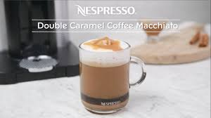 Double Caramel Coffee Macchiato Recipe