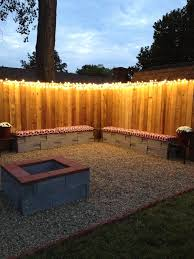 DIY Backyard Lighting Hang Lights On Your Fence Mesmerizing Ideas ... Privacy Fence Styles Design And Ideas Of House Diy Backyard Fence Peiranos Fences Durable Build A Wall With Panels Hgtv 60 Cheap Diy Privacy How To Install Picket For Dogs Building A Photo On Breathtaking Fencing Cost Wood Secure Outdoor Pictures Designs Trends Decorating Condointeriordesigncom Appealing Wooden Pergola Installed Above Classic Nuanced 100 Decor Images About Garden Gates