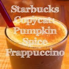 Pumpkin Spice Frappuccino Recipe Starbucks by Recipe Starbucks Pumpkin Spice Frappuccino Cinnamon Nutmeg Cloves
