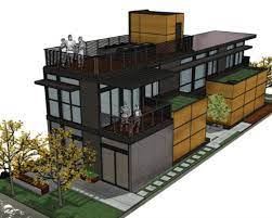 101 Simpatico Homes Prototype Is A Net Zero Modern Modular Prefab In Emeryville Ca