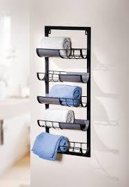metall handtuch regal industrial schwarz 5 ablagen bad