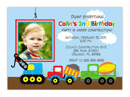 Truck Birthday Invitations | DOZOR Printable Cstruction Dump Truck Birthday Invitation Etsy Pals Party Cake Ideas Supplies Janet Flickr Shirt Boy Pink The Cat Cakes Cupcakes With Free S36 Youtube 11 Diggers And Trucks Or Photo Tonka Luxury Smash First Invitations Aw07 Advancedmasgebysara
