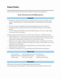 Controller Resume Sample Fresh Cost Accountant Samples Oyle Kalakaari