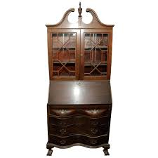 Drop Front Secretary Desk Antique by Desk Antique Desk Secretary Bookcase Solid Cherry Jasper Cabinet